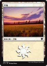 平地/Plains No.296 【日本語版】 [C17-土地]