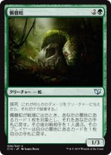 髑髏蛇/Skullwinder 【日本語版】[C15-緑U]