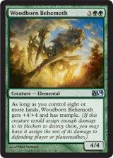 森生まれのビヒモス/Woodborn Behemoth 【英語版】 [M14-緑U]