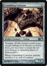 崩れゆく巨像/Crumbling Colossus 【英語版】 [M12-アU]