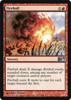 画像1: 火の玉/Fireball 【英語版】 [M12-赤U]
