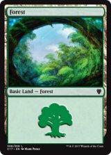 森/Forest No.308 【英語版】 [C17-土地]《状態:NM》