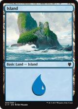 島/Island No.300 【英語版】 [C17-土地]《状態:NM》