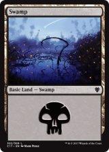 沼/Swamp No.302 【英語版】 [C17-土地]《状態:NM》