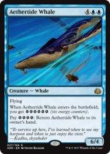 霊気海嘯の鯨/Aethertide Whale 【英語版】 [AER-青R]