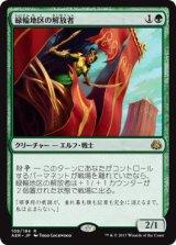 緑輪地区の解放者/Greenwheel Liberator 【日本語版】 [AER-緑R]