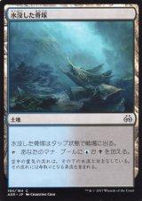 水没した骨塚/Submerged Boneyard 【日本語版】 [PWD-土地C]