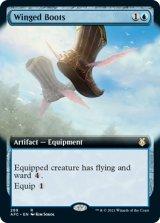 ウィングド・ブーツ/Winged Boots (拡張アート版) 【英語版】 [AFC-青R]
