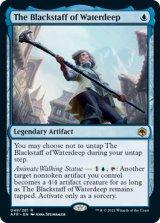 ウォーターディープの黒杖/The Blackstaff of Waterdeep 【英語版】 [AFR-青R]