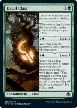 ドルイド・クラス/Druid Class 【英語版】 [AFR-緑U]