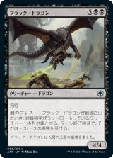 ブラック・ドラゴン/Black Dragon 【日本語版】 [AFR-黒U]