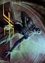 [アート・カード] 墓所のグール/Sepulcher Ghoul No.018 (箔押し版) 【英語版】 [AFR-トークン]