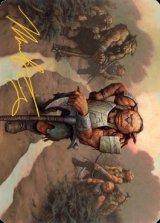 [アート・カード] ホブゴブリンの山賊の頭/Hobgoblin Bandit Lord No.030 (箔押し版) 【英語版】 [AFR-トークン]