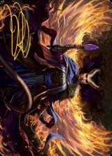 [アート・カード] デヴィルに選ばれし者、ファリダ/Farideh, Devil's Chosen No.032 (箔押し版) 【英語版】 [AFR-トークン]