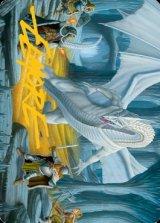 [アート・カード] フロスト・ドラゴンの洞窟/Cave of the Frost Dragon No.046 (箔押し版) 【英語版】 [AFR-トークン]