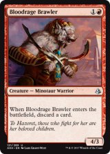 血怒りの喧嘩屋/Bloodrage Brawler 【英語版】 [AKH-赤U]