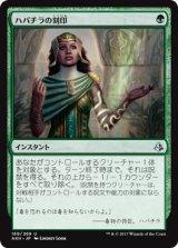 ハパチラの刻印/Hapatra's Mark 【日本語版】 [AKH-緑U]《状態:NM》