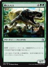 鱗ビヒモス/Scaled Behemoth 【日本語版】 [AKH-緑U]《状態:NM》