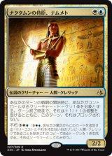 ナクタムンの侍臣、テムメト/Temmet, Vizier of Naktamun 【日本語版】 [AKH-金R]《状態:NM》