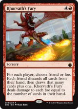 コルバスの憤怒/Khorvath's Fury 【英語版】 [BBD-赤R]