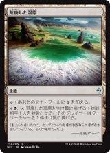 荒廃した湿原/Blighted Fen【日本語版】 [BFZ-土地U]《状態:NM》