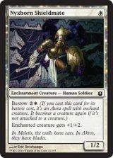 ニクス生まれの盾の仲間/Nyxborn Shieldmate 【英語版】 [BNG-白C]《状態:NM》