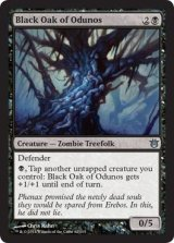 オドゥノスの黒樫/Black Oak of Odunos 【英語版】 [BNG-黒U]《状態:NM》