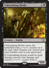 息せぬ群れ/Unbreathing Horde 【英語版】 [BVC-黒R]