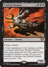 ザスリッドの悪魔/Xathrid Demon 【英語版】 [C14-黒MR]《状態:NM》