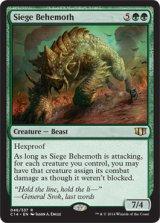 包囲ビヒモス/Siege Behemoth 【英語版】 [C14-緑R]