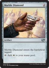 乳白色のダイアモンド/Marble Diamond 【英語版】 [C14-灰U]
