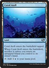 珊瑚礁/Coral Atoll 【英語版】 [C14-土地U]