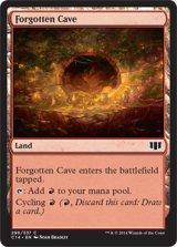忘れられた洞窟/Forgotten Cave 【英語版】 [C14-土地C]