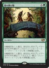 森の捧げ物/Sylvan Offering 【日本語版】 [C14-緑R]