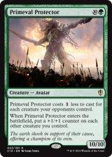 原始の守護者/Primeval Protector 【英語版】 [C16-緑R]