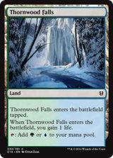 茨森の滝/Thornwood Falls 【英語版】 [C16-土地C]