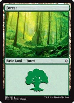 画像1: 森/Forest No.351 【英語版】 [C16-土地]