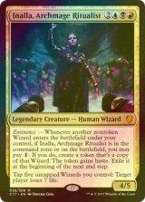 [FOIL] 儀式の大魔導師、イナーラ/Inalla, Archmage Ritualist 【英語版】 [C17-金MR]《状態:NM》