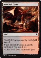 血溜まりの洞窟/Bloodfell Caves 【英語版】 [C17-土地C]
