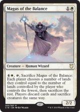 天秤の大魔術師/Magus of the Balance 【英語版】  [C18-白R]