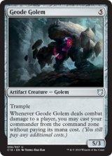 晶洞ゴーレム/Geode Golem 【英語版】  [C18-灰U]