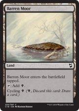 やせた原野/Barren Moor 【英語版】  [C18-土地C]