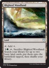 荒廃した森林/Blighted Woodland 【英語版】  [C18-土地U]