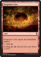 忘れられた洞窟/Forgotten Cave 【英語版】  [C18-土地C]