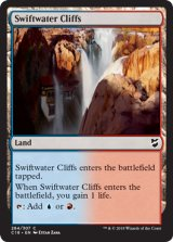 急流の崖/Swiftwater Cliffs 【英語版】  [C18-土地C]