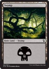 沼/Swamp No.301 【英語版】 [C18-土地C]