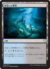 水没した骨塚/Submerged Boneyard 【日本語版】 [C18-土地U]