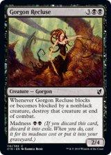 ゴルゴンの世捨て/Gorgon Recluse 【英語版】 [C19-黒C]《状態:NM》