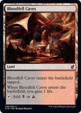 血溜まりの洞窟/Bloodfell Caves 【英語版】 [C19-土地C]《状態:NM》