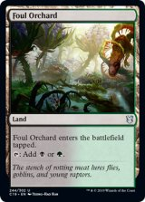 穢れた果樹園/Foul Orchard 【英語版】 [C19-土地U]《状態:NM》